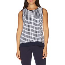 Picture of SLEEVELESS BACK PLACKET TANK