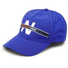 Image of Nautica BRIGHT COBAL HERITAGE NYLON BASEBALL CAP