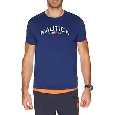 Picture of SHORT SLEEVE NAUTICA SUPPLY GRAPHIC TEE