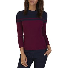 Picture of COLOR BLOCK MOCK NECK SWEATER