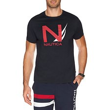 Picture of N GRAPHIC SHORT SLEEVE LOGO TEE