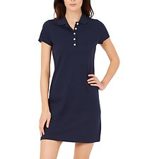 Picture of S/S SOLID POLO ANCHOR DRESS