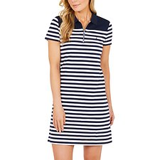 Picture of HERITAGE STRIPE POLO DRESS