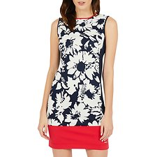 Picture of FLORAL PRINTED PONTE DRESS