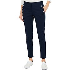 Image of Nautica NAVY SEAS SLIM FIT TROUSER