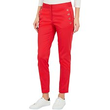 Image of Nautica ROSE CORAL SLIM FIT TROUSER