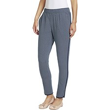 Image of Nautica  DIAMOND PIPED TRACK PANTS