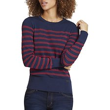 Image of Nautica  STRIPED CREW NECK SWEATER