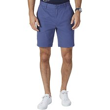 Image of Nautica BLUE INDIGO CLASSIC FIT DECK SHORT