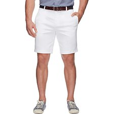 Image of Nautica BRIGHT WHITE SLIM FIT STRETCH SHORT
