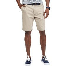 Image of Nautica TRUE KHAKI BIG & TALL FLAT FRONT SHORT