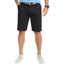 Image of Nautica TRUE NAVY BIG & TALL FLAT FRONT SHORT