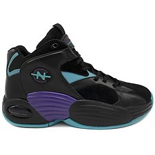 Image of Nautica BLACK/TEAL NAUTICA COMPETITION FOOTACTION REBELL SNEAKERS