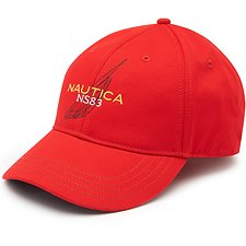 Image of Nautica NAUTICA RED LINEAR J CLASS BASEBALL CAP