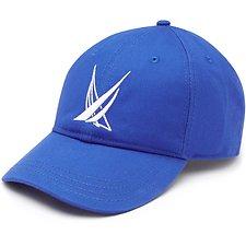Image of Nautica BRIGHT NAUTICA BLUE BLUE SAIL LARGE LOGO BASEBALL CAP