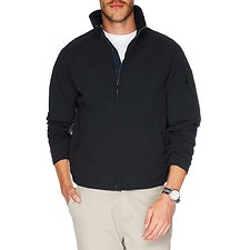 Image of Nautica TRUE BLACK YACHT ANCHOR JACKET