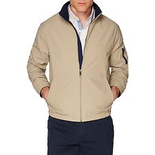 Image of Nautica TRUE KHAKI YACHT ANCHOR JACKET