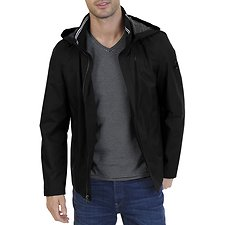 Image of Nautica TRUE  BLACK ANCHOR CLASSIC BOMBER JACKET