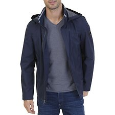 Image of Nautica TRUE NAVY ANCHOR CLASSIC BOMBER JACKET