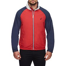 Image of Nautica RESCUE RED REVERSIBLE N83 WINDBREAKER JACKET