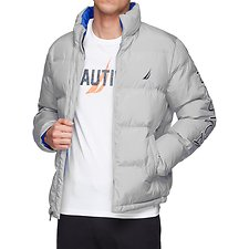 Image of Nautica ALLOY ENDEAVOUR LOGO PUFFER JACKET
