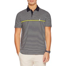 Picture of SHORT SLEEVE SLIM LIGHTWEIGHT ENGINGEERED STRIPE POLO