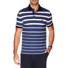 Picture of SHORT SLEEVE GRADIENT STRIPE POLO
