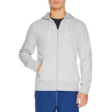 Image of Nautica GREY HEATHER COASTAL SAILING HOODIE