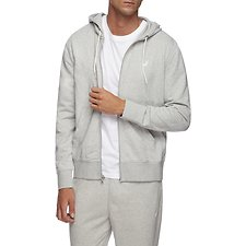 Image of Nautica GREY HEATHER J CLASS FULL ZIP HOODIE