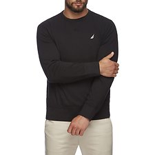 Image of Nautica TRUE BLACK J CLASS CREW NECK SWEATER