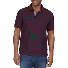 Picture of STRIPED SHORT SLEEVE DECK POLO SHIRT