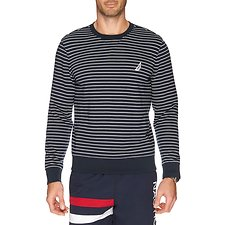 Picture of CREW NECK HERITAGE STRIPE SWEATER