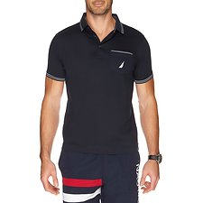 Picture of SHORT SLEEVE SOLID INTERLOCK POLO