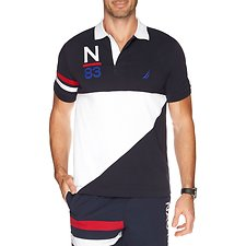 Picture of HERITAGE BLOCKED SHORT SLEEVE POLO