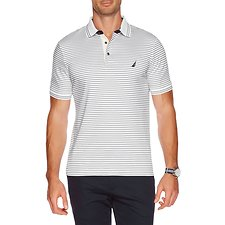 Picture of STRIPE INTERLOCK POLO