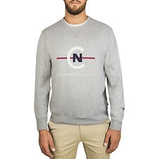 Image of Nautica GREY HTHR NAUTICA COMPETITION CREW NECK SWEATSHIRT