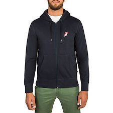 Image of Nautica NAVY NAUTICA 83 FULL ZIP HOODIE