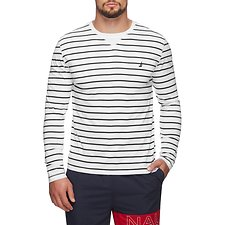 Picture of DAY LONG STRIPE CREW NECK