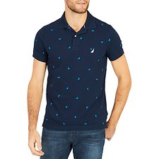 Picture of SHORT SLEEVE MARLIN PRINTED POLO