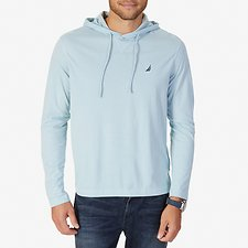 Image of Nautica BAY BLUE J-CLASS HOODED T-SHIRT