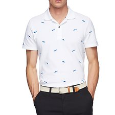Image of Nautica  SHARK Critter Pique Polo
