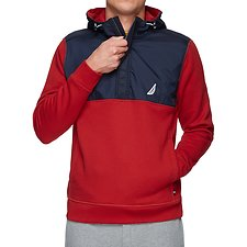 Image of Nautica  TECH FLEECE PULLOVER HOODIE