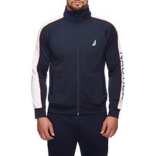 Image of Nautica NAVY NAUTICA RETRO PIPPED TRACK