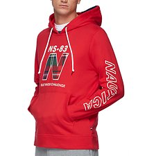 Image of Nautica CHERRY RED BLUE WATER CHALLENGE HOODIE