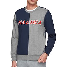 Image of Nautica NAVY THE SPLIT BLUE WATER CHALLENGE SWEATER
