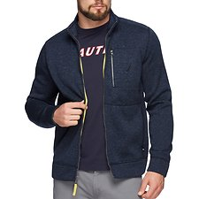 Image of Nautica NAVY THE ZIP SWEATER FLEECE JACKET