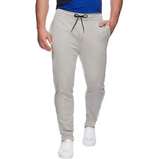 Image of Nautica GREY HEATHER RETRO PIPED TRACK PANT