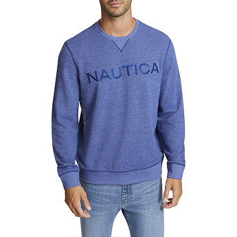 Image of Nautica  NAUTICA SOFT LOGO SWEATER