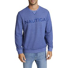 Image of Nautica BLUE DEPTHS NAUTICA SOFT LOGO SWEATER