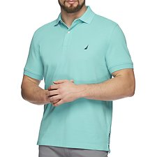 Image of Nautica BALI BLISS Short Sleeve Solid Polo
